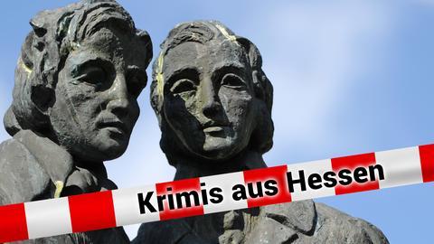 Statue der Brüder Grimm in Kassel