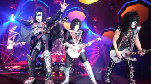 Kiss 2019 bei einem Auftritt in Leipzig.