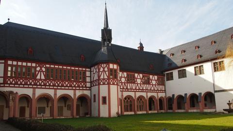 Garten im Kloster Eberbach