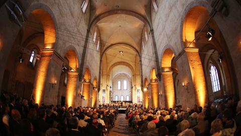 Konzert im Kloster Eberbach zum Rheingau-Musik-Festival