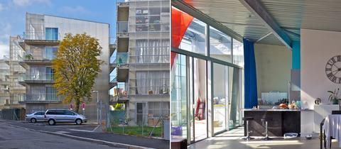 Wohnprojekt in Mulhouse in Frankreich