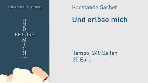 """Buchcover """"Und erlöse mich"""""""