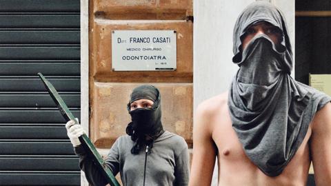 Fotografie von Julian Röder - G8-Protest in Genua