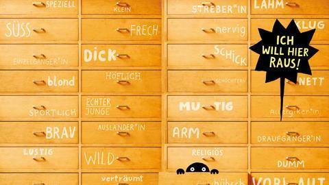 """Auszug aus dem Buch der Labor Ateliergemeinschaft """"Ich so Du so"""""""