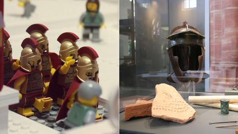 Römer in Lego und Original