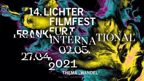 Werbeplakat Lichter Filmfest