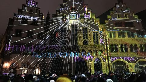 Luminale Eröffnung 2018 Römer