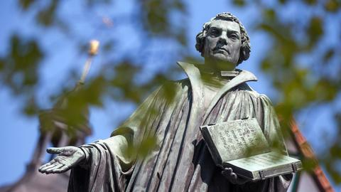 Luther-Denkmal in Möhra (Thüringen)
