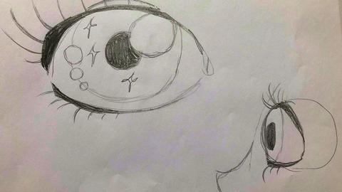Manga-Auge