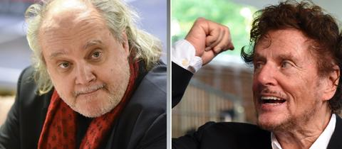 Paulus Manker und Dieter Wedel.
