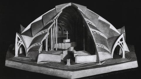 Otto Bartning, Modell der Sternkirche, 1922