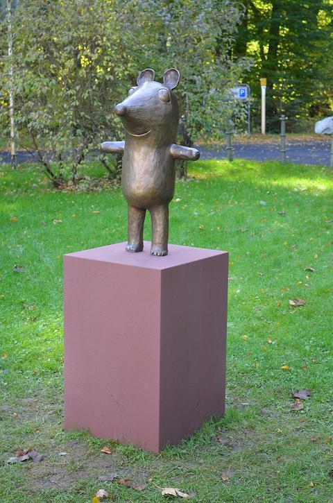 Maus-Skulptur in Bad Homburg