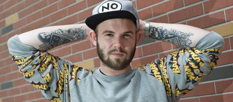 Max Nachtsheim, Rapper und Podcast-Macher.
