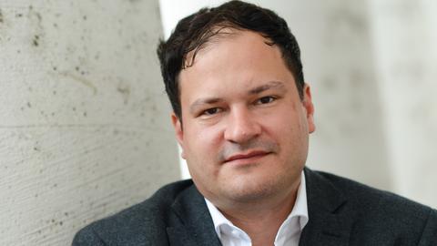 Wird neuer Stadtschreiber von Bergen-Enkheim: der Autor Thomas Melle