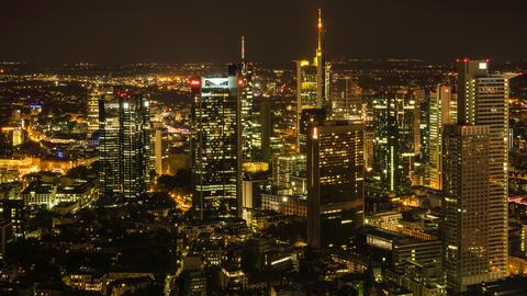 Die Skyline zu Füßen: Von der Plattform im 60. Stock