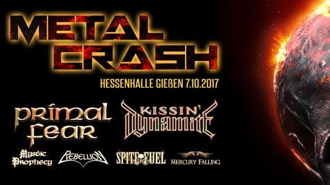 Plakat Metal Crash Festival Gießen