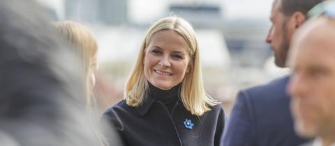 Norwegens Kronprinzessin Mette-Marit