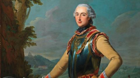 Johann Heinrich Tischbein d.Ä., Bildnis des Louis Gaucher, 1762