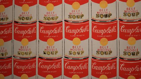 "Andy Warhol, ""100 Campbel´s Soup Cans"""