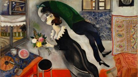 Marc Chagall, Der Geburtstag, 1915