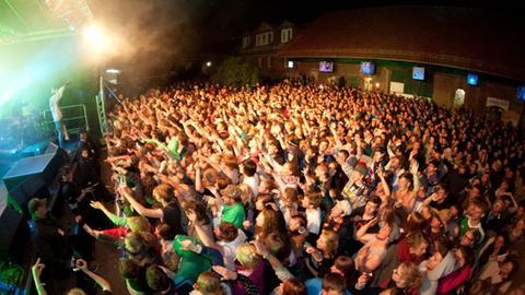 Feiern vor Bauernhof-Kulisse - das Festival Musikschutzgebiet