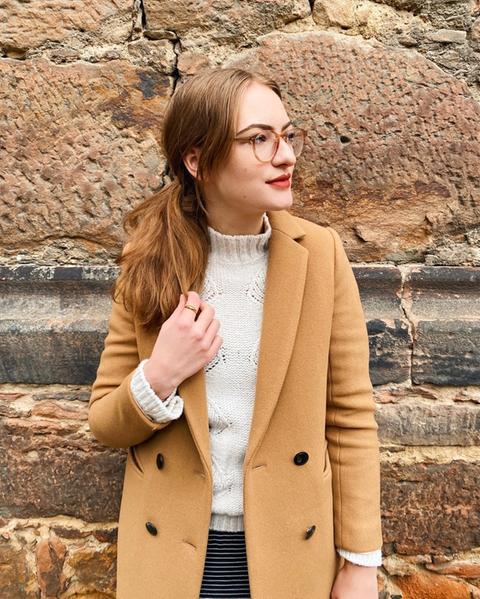 Lydia Huth trägt nachhaltige Kleidung