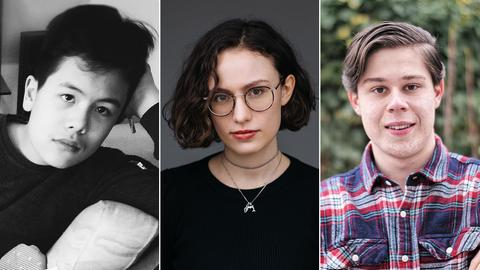 Porträts dreier junger Komponisten: Felix Gerstner, Marlene Jacobs, Vincent Hagemann