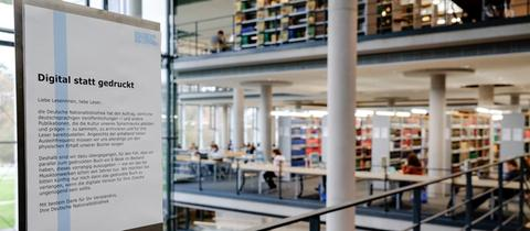 Nationalbibliothek Lesesaal