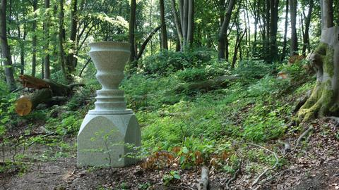 Denkmal von Ugo Dossi für Manfred Schneckenburger
