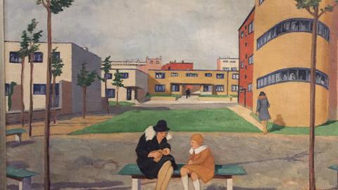 """""""Neuer Mensch, neue Wohnung"""" Ausstellung im DAM"""