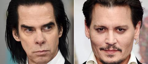Nick Cave und Johnny Depp