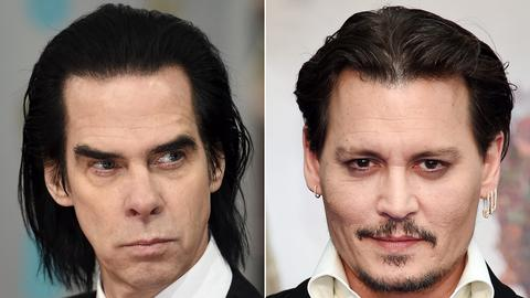 Nick Cave und Johnny Depp