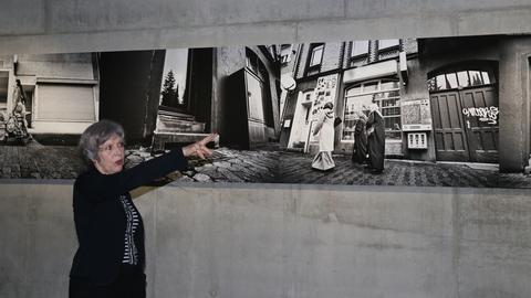 Regina Schmeken bei NSU Ausstellung