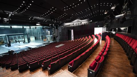 Sitzreihen im Schauspiel Frankfurt