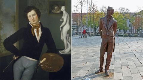 Oppenheim Bild und Statue