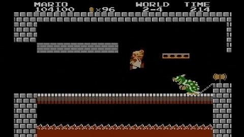 "Screenshot: ""Super Mario Bros."""
