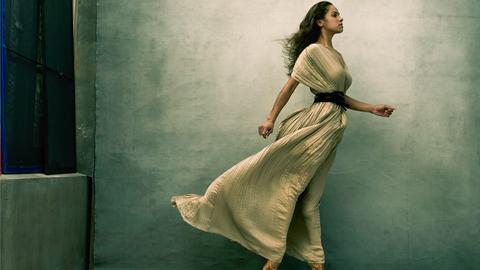 Portrait von US-Ballet-Tänzerin Misty Copeland