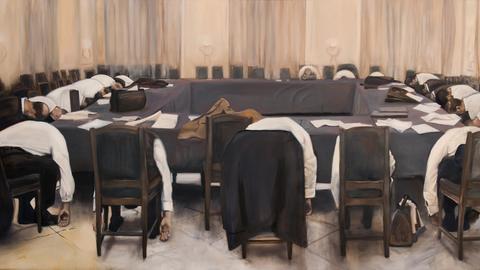 """""""The Slieepers"""" von der italienischen Künstlerin Adelita Husni-Bey"""