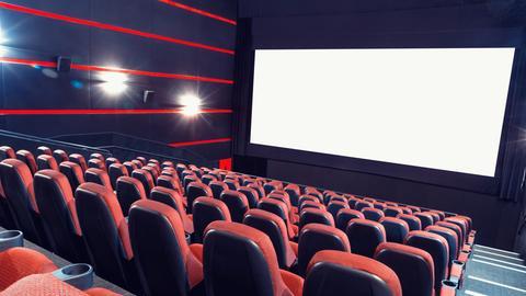 Programmkino Stuhlreihen Kinosaal