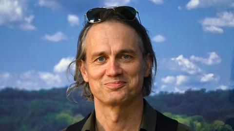 Schauspieler Ralf Bauer, aufgenommen auf einer Pressekonferenz der Bad Hersfelder Festspiele.