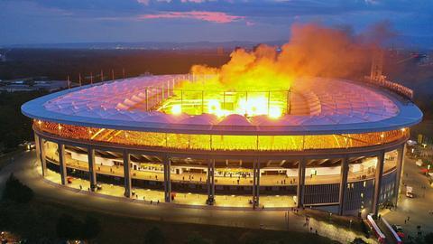 Rammstein in der Commerzbank Arena