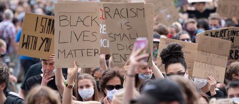 Rassismus Demo