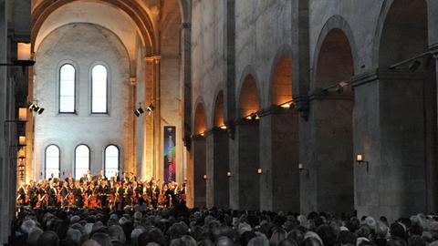 Konzert des Rheingau-Musik-Festivals in der Basilika von Kloster Eberbach