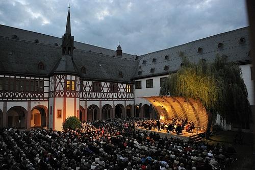 Konzert im Innenhof des Klosters Eberbach