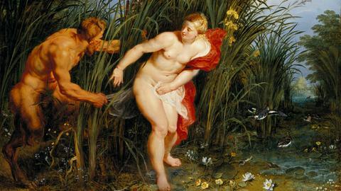 """Peter Paul Rubens und Jan Brueghel d.Ä. """"Pan und Syrinx"""", 1617"""