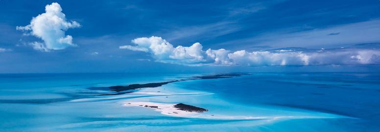 Die Inselkette der Exumas, Bahamas