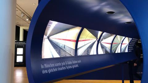 Ausstellungsobjekt zum Thema: Wie schön ist es unter der Erde?
