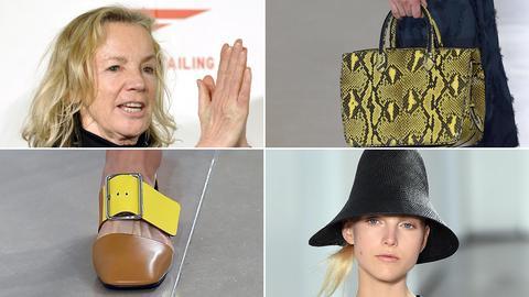 Jil Sander und von ihr entworfene Mode