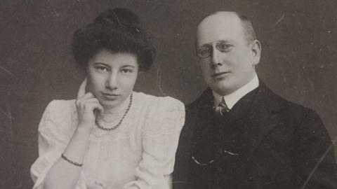 Foto von Emmy und Ernst Rubensohn