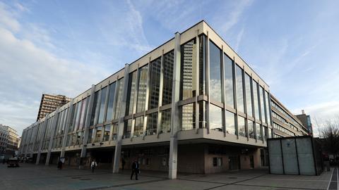 Außenansicht Schauspiel und Oper, Frankfurt